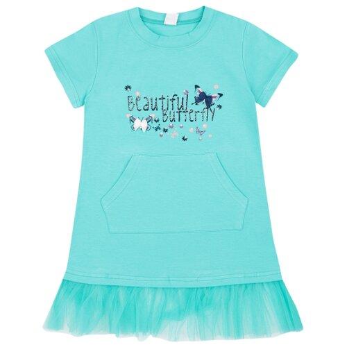 Купить Платье Fun time размер 98, голубой, Платья и сарафаны