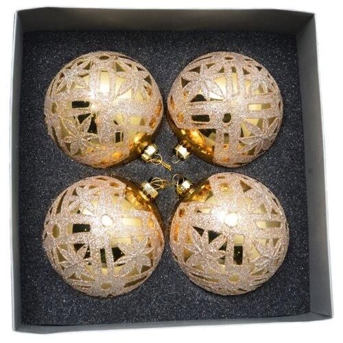 Набор шаров KARLSBACH 06850, золотистый