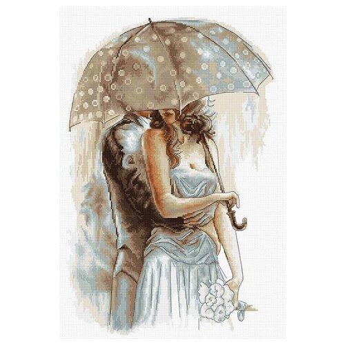 Купить Luca-S Набор для вышивания Под зонтом 2, 23.5 х 36 см, B2294, Наборы для вышивания