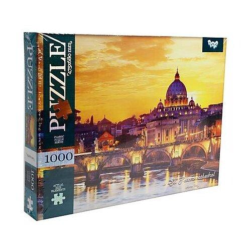 Пазл Danko Toys Собор Святого Петра (C1000-10-06), 100 дет. пазл danko toys городская река