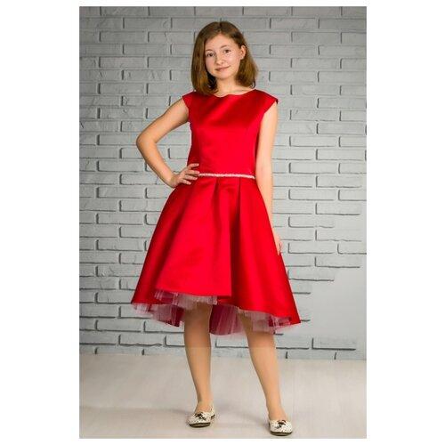 Платье Khmeleva размер 164, красный платье oodji ultra цвет красный белый 14001071 13 46148 4512s размер xs 42 170