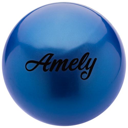 Мяч для художественной гимнастики Amely AGB-101 19 см синий