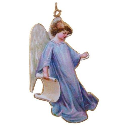 Елочная игрушка SHISHI 48125, голубой