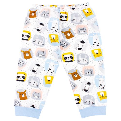 Брюки Веселый Малыш 33140/one размер 80, молочный брюки веселый малыш морской котик 33170 one размер 80 молочный серый синий