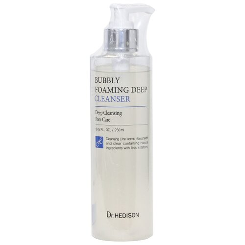 Dr. Hedison очищающий гель для лица Bubbly Foaming Deep Cleanser, 250 мл dr brandt очищающий крем гель clean biotic 100 мл