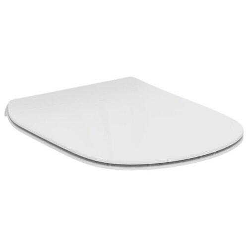 Крышка-сиденье для унитаза Ideal STANDARD Tesi T3528 дюропласт белый