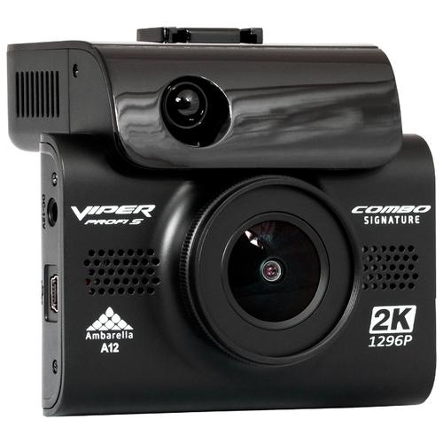 Видеорегистратор с радар-детектором VIPER Profi S Signature, GPS, ГЛОНАСС черный