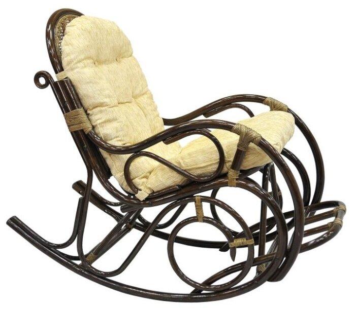 Кресло-качалка с подножкой (подушка шенилл), 05/11 Б (цвет браун) - Характеристики - Яндекс.Маркет (бывший Беру)