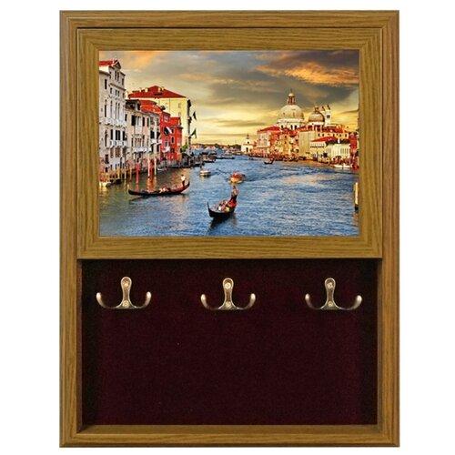 Ключница Мастер Рио Венеция 1/207482 коричневый