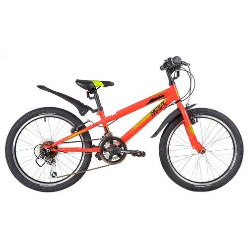 Фото - Подростковый горный (MTB) велосипед Novatrack Racer 20 12 (2020) красный (требует финальной сборки) велосипед novatrack racer черный 24 рама 10