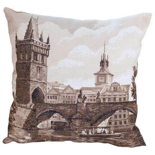 Купить PANNA Набор для вышивания Подушка Злата Прага 42 х 42 см (PD-1725), Наборы для вышивания