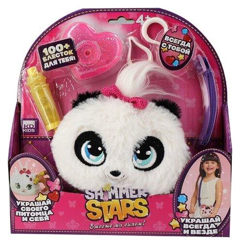 Игрушка-сумка Shimmer Stars Плюшевая панда 12 см