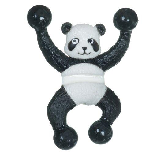 Лизун BONDIBON Чудики Панда (ВВ4307) белый/черный