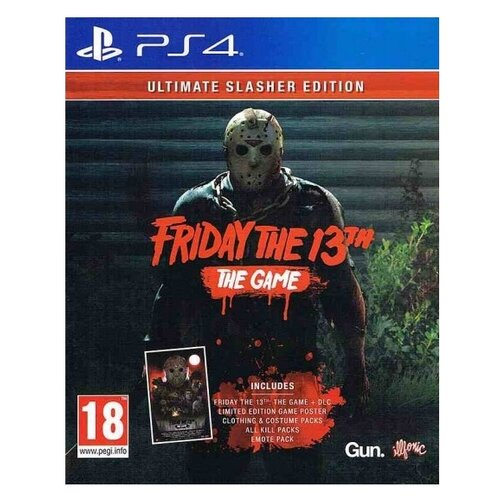 Игра для PlayStation 4 Friday the 13th: The Game. Ultimate Slasher Edition, английский язык недорого