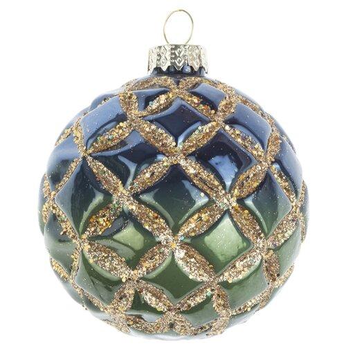 Набор шаров KARLSBACH 08911, синий/зеленый/золотистый
