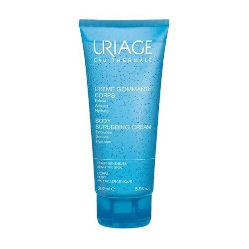 Uriage Отшелушивающий крем для тела, 200 мл урьяж мицеллярная вода очищающая для кожи склонной к покраснению 250 мл uriage гигиена uriage