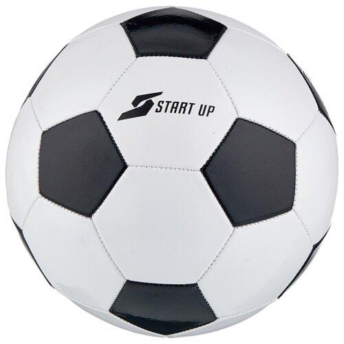 Футбольный мяч START UP E5122 черный/белый 5 цена 2017