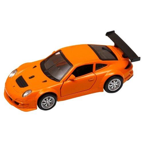 Купить Легковой автомобиль Автопанорама Porsche 911 GT3 RSR (J12274/JB1200127) 1:39 11.5 см оранжевый, Машинки и техника