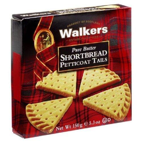 Печенье Walkers Shortbread Petticoat Tails 150 г печенье песочное треугольнички walkers 170 г