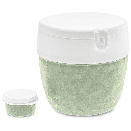 Koziol Ланч-бокс Club Bento Organic green