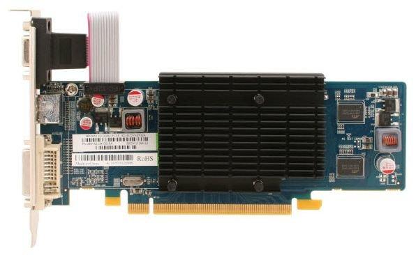 Sapphire Radeon HD 5450 650Mhz PCI-E 2.1 1024Mb 800Mhz 64 bit DVI HDMI HDCP