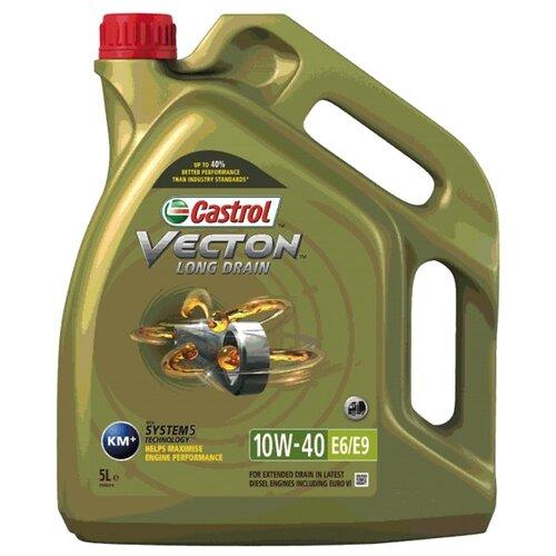 цена на Моторное масло Castrol Vecton Long Drain 10W-40 E6/E9 5 л