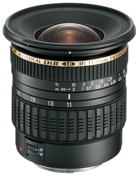 Объектив Tamron SP AF 11-18mm f/4.5-5.6 Di II LD Aspherical (IF) (A13) Canon EF-S