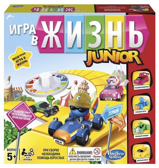 Настольная игра Hasbro games Моя первая Игра в жизнь B0654