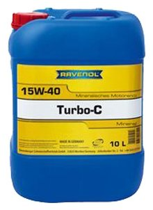 Моторное масло Ravenol Turbo-C HD-C SAE 15W-40 10 л