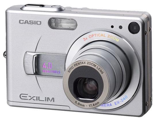 Фотоаппарат CASIO Exilim Zoom EX-Z40
