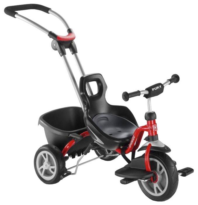 Трехколесный велосипед Puky 2493 CAT S2 Ceety red