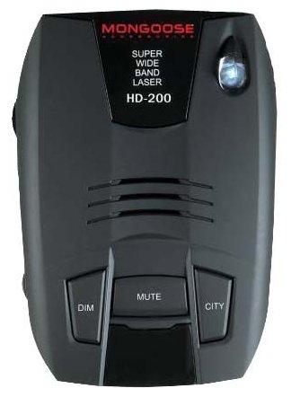 Радар-детектор Mongoose HD-200