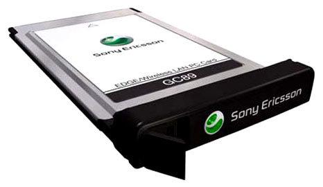 Модем PCMCIA GSM (GPRS/EDGE) + WIFI Sony Ericsson GC89