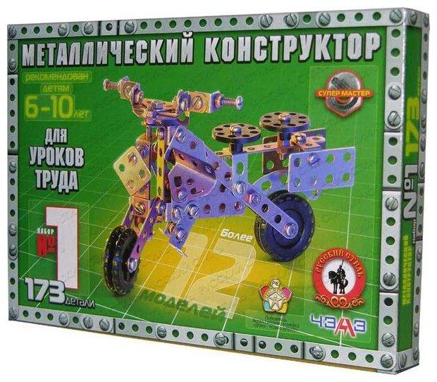 Винтовой конструктор Русский стиль Конструктор №1 (для уроков труда))
