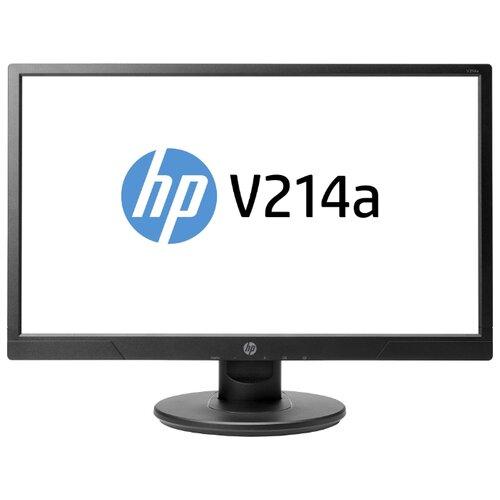 """Монитор HP V214a 20.7"""" черный"""