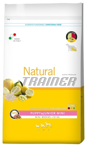 Корм для собак TRAINER Natural Puppy&Junior Mini dry (7.5 кг)
