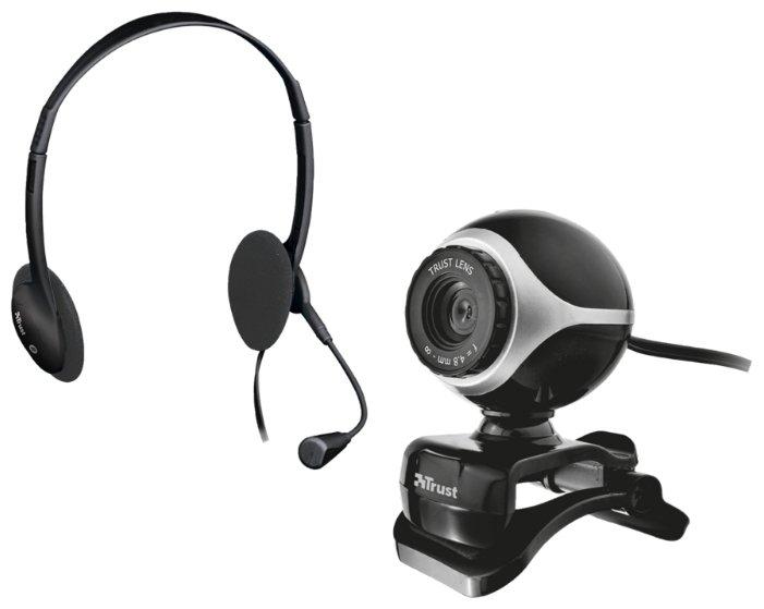 Сравнение с веб камера Trust Exis