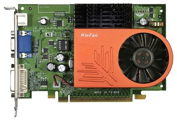 Видеокарта Leadtek GeForce 8500 GT 490Mhz PCI-E 256Mb 800Mhz 128 bit DVI TV YPrPb