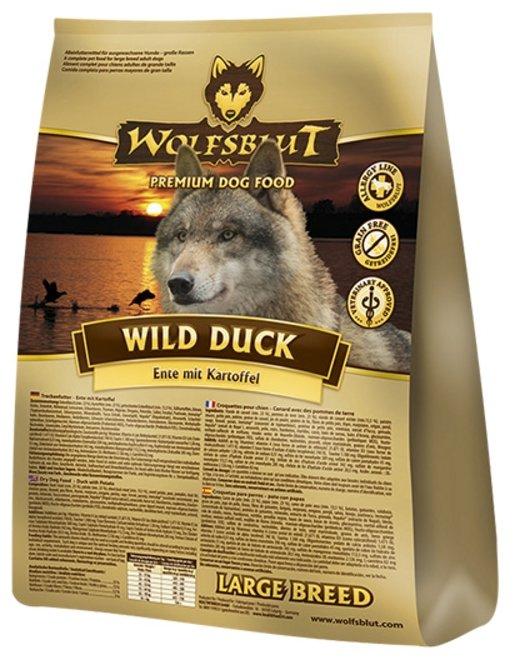 Корм для собак Wolfsblut Wild Duck Large Breed