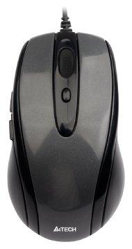 Мышь A4Tech N-708X Black USB — купить по выгодной цене на Яндекс.Маркете