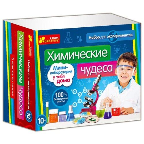 Купить Набор RANOK CREATIVE Химические чудеса, Наборы для исследований