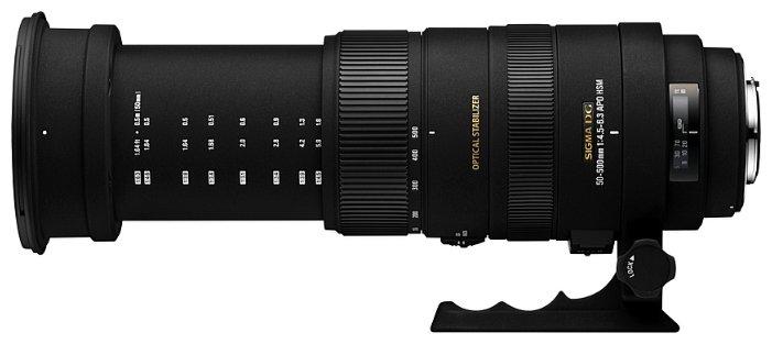 Sigma AF 50-500mm f/4.5-6.3 APO DG OS HSM Sigma SA