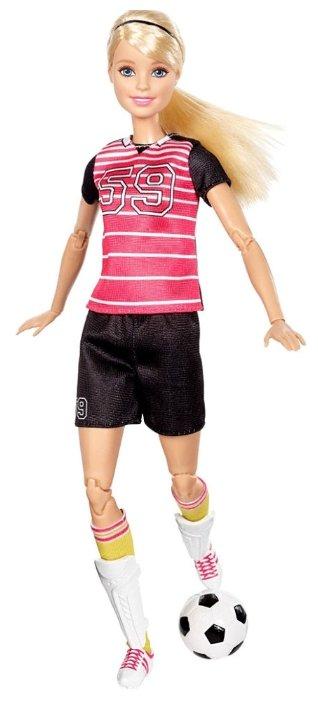 9d11cc6f8b94 Кукла Barbie Безграничные движения Футболистка Блондинка, 29 см, DVF69