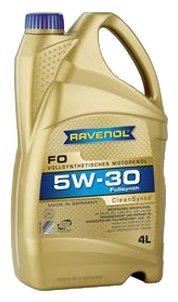 Моторное масло Ravenol FO SAE 5W-30 4 л
