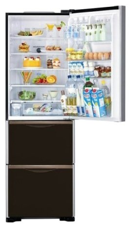 Холодильник R-SG37 BPU INX, HITACHI