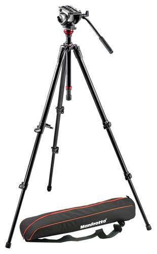 Manfrotto Штатив Manfrotto 755XBK/MVH500AH