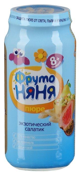 Пюре ФрутоНяня Экзотический салатик (с 8 месяцев) 250 г, 12 шт.