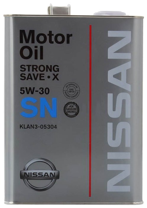 Моторное масло Nissan Strong Save-X 5W30 1 л KLAN3-05304