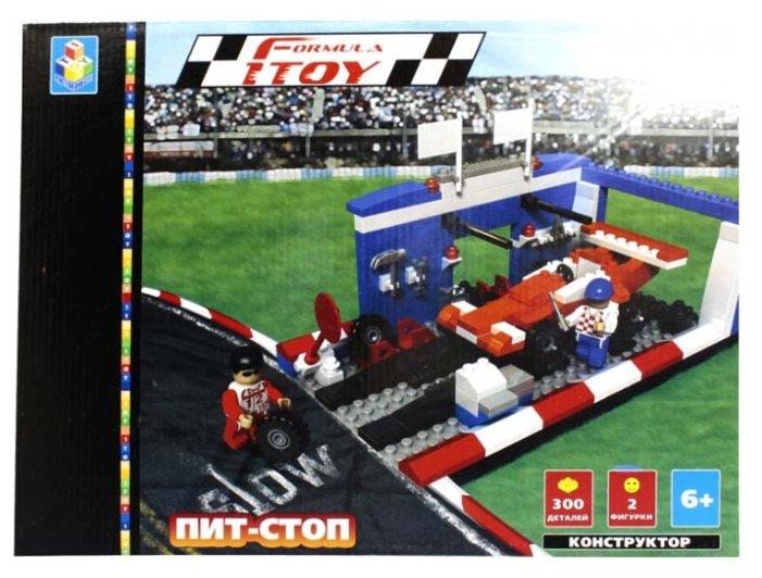 Конструктор 1 TOY Формула 1TOY Т52469 Пит-Стоп