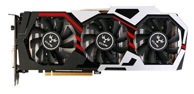 Видеокарта Colorful GeForce GTX 1070 1569Mhz PCI-E 3.0 8192Mb 8008Mhz 256 bit DVI HDMI HDCP iGame U-TOP